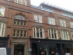 The Exchange Building, Rutland Street, City Centre Leicester